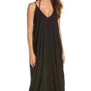 NWT! ELAN V-Back Cover-Up Maxi Dress (S)